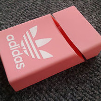 Soft Pink Adidas Silicone Cigarette Case New
