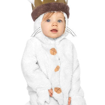 where the wild things are max baby from spirit halloween. Black Bedroom Furniture Sets. Home Design Ideas