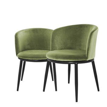 Green Dining Chair | Eichholtz Filmore set of 2
