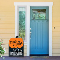 Halloween Decorations - Personalized Halloween Yard Sign - Outdoor Lawn Decorations - Trick or Treat - Halloween Party Decorations