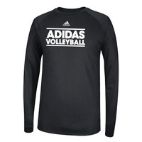Adidas Women's Volleyball Black Long Sleeve T-Shirt