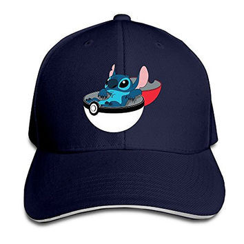 Eternal Lilo Stitch Line Sandwich Peaked Baseball Cap