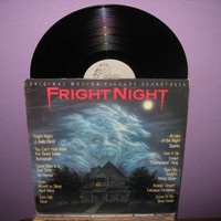 Rare Vinyl Record Fright Night Original by JustCoolRecords on Etsy
