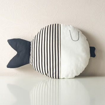 Stuffed fish, pillow fish, kids pillow