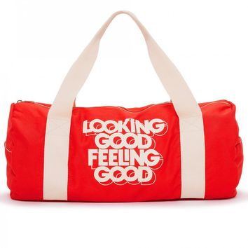Looking Good Feeling Good Duffel Gym Bag - PRE-ORDER, SHIPS LATE JULY