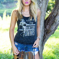Hunting Cowboys Top