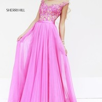 Off Shoulder Gown by Sherri Hill