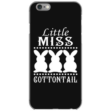 little miss cottontail cute bunny easter iPhone 6/6s Case