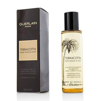 Terracotta Nourishing Dry Oil - For Face, Body & Hair - 100ml-3.3oz