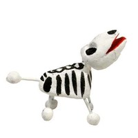Skeleton Puppy Day of the Dead Sculpture