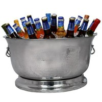 Artisan Stainless Steel Double Wall Beverage Tub - 34 qt