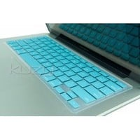 "Kuzy - TEAL Hot Blue Keyboard Cover Silicone Skin for MacBook Pro 13"" 15"" 17"" (with or w/out Retina Display) iMac and MacBook Air 13-inch - Teal"