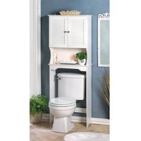 Nantucket Bathroom Space Saver Cabinet