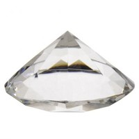 Large Diamond Paperweight