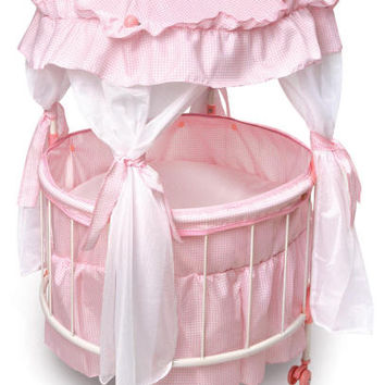 Royal Round Doll Crib