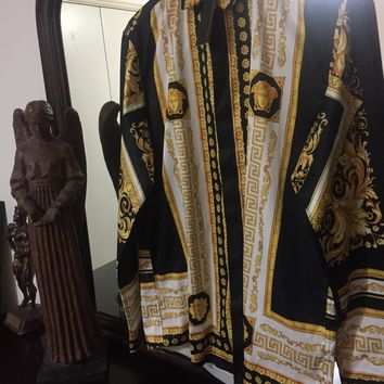 Versace Shirt 'Size Eu. 2XL' ( Vintage Barocco Line!! Must See!!)