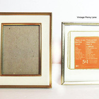 Picture Frame Lot, Solid Brass
