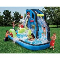 Banzai Battle Blast Water Slide:Amazon:Toys & Games