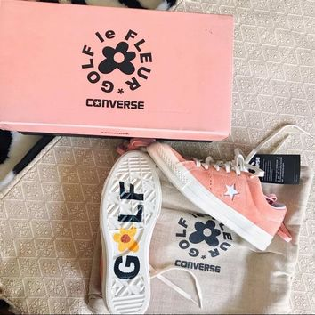 Converse One Star x Golf le Fleur TTC Suede 35-44 Pink Color