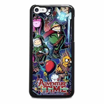 adventure time legend of zelda iphone 5c case cover  number 1