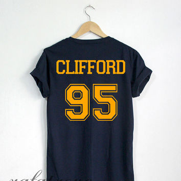 Michael Clifford Shirt Clifford 95 Tshirt Navy Color Unisex Size - RT70