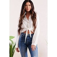 All About My Comfort Top (White)