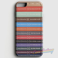A Series Of Unfortunate Events Books iPhone 6/6S Case | casefantasy