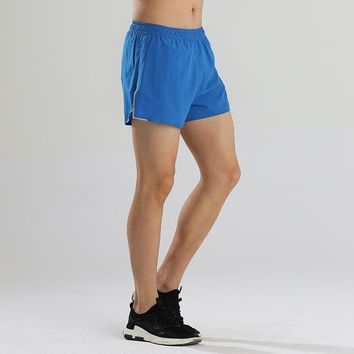2018 Newest Mens Training Shorts Marathon Running Shorts for Man Loose Sports Breeches Fitness Short Trousers Plus Size M-3XL