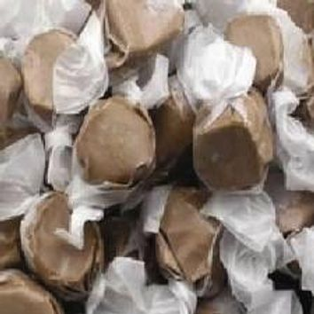 Chocolate Salt Water Taffy 1/2 lb Bulk