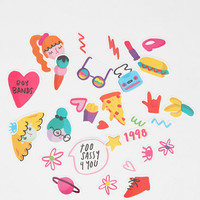 Urban Outfitters - Melissa Chaib 90s Girl Sticker Sheet