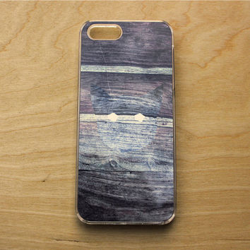 iPhone 6 Wood Case - iPhone 6 Hipster Case - iPhone 6 Case Wood - iPhone Case Cat - iPhone Case Minimalist - iPhone 6 Case Abstract