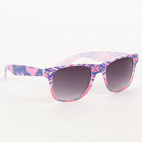 With Love From CA Tribal Print Sunglasses at PacSun.com