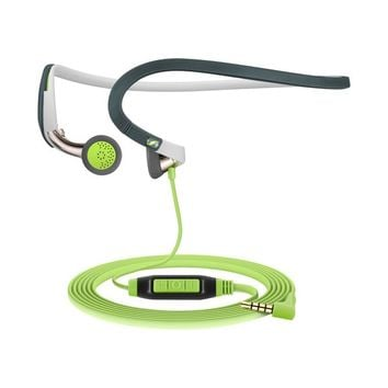 Sennheiser - SPORT Earbud Headphones - White/Green