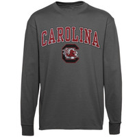 South Carolina Gamecocks Midsize Long Sleeve T-Shirt - Charcoal