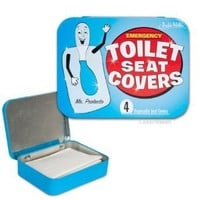 Accoutrements Emergency Toilet Seat Covers: Toys & Games