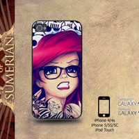 ariel punk - iPhone cases 4/4S Case iPhone 5/5S/5C Case Samsung Galaxy S3/S4 Case