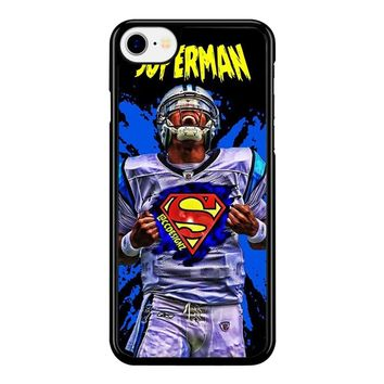 Superman Cam Newton Carolina iPhone 8 Case