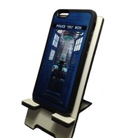 Tardis inside Console Room Doctor Who Iphone 6 (4.7-Inches) Black Flexible Soft TPU Case Slim Case for iPhone 6 (4.7) 2014 release