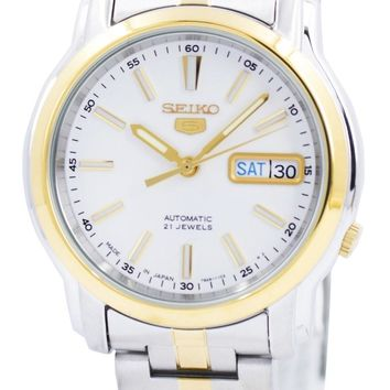 Seiko 5 Automatic 21 Jewels Japan Made SNKL84 SNKL84J1 SNKL84J Men's Watch
