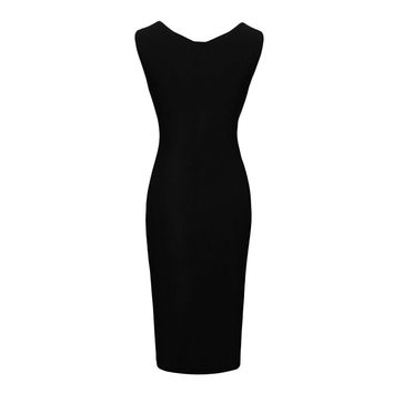 2015 Summer Dress Sexy Women V Neck Sleeveless Cocktail Party Slim Dresses Clothing PE3315*50