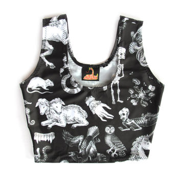 Freak of Nature Crop Top - Black
