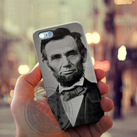 Abraham Lincoln Case for Iphone 4, 4s, Iphone 5, 5s, Iphone 5c, Samsung Galaxy S3, S4, S5, Samsung Galaxy Note 2, Note 3.