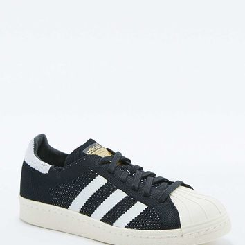 adidas Originals Superstar Primeknit Black Trainers - Urban Outfitters