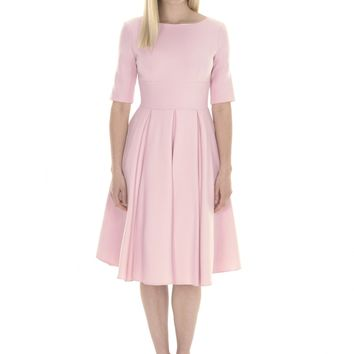 Hepburn Swing Dress