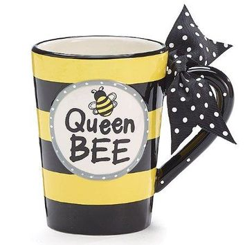 Queen Bee Gift Boxed Coffee Mug
