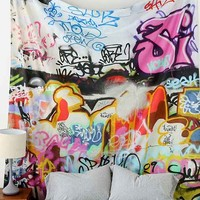 Graffiti Tapestry- Multi One