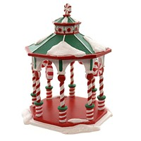 Dept 56 Accessories Peppermint Gazebo Village Trees