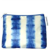 Designers Guild Savine Cobalt Small Toiletry Bag