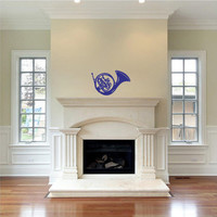 How I Met Your Mother Blue French Horn Wall Decal Sticker