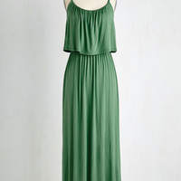 Long Sleeveless Maxi Tier for You Dress by ModCloth